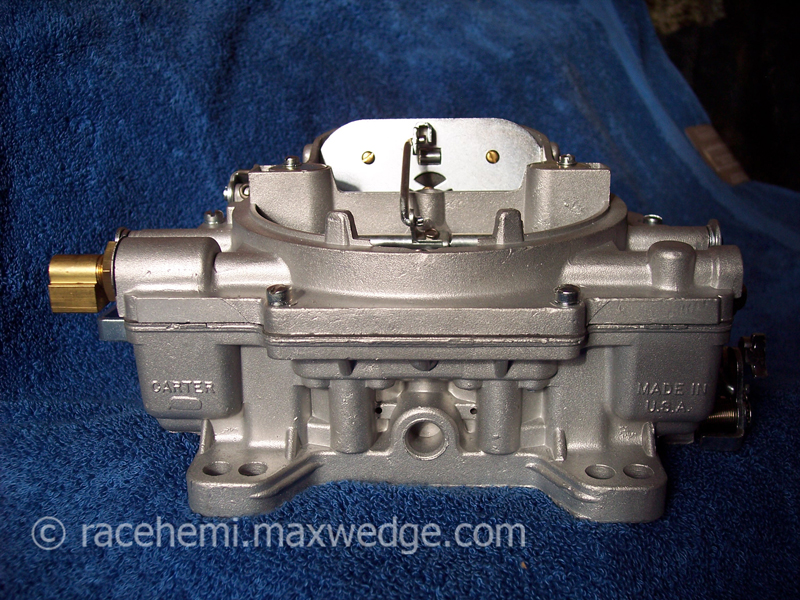 Max Wedge and Race Hemi Carburetors