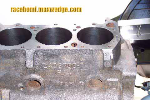 Block on Hemi Engine Block Casting Numbers